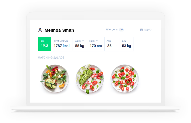 Diet Planner - Program for nutritionists to create meal and diet plans.